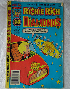 Richie Rich Diamonds (1982) No.58 Harvey World Comics