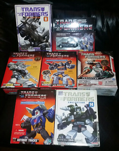 Huge G1 reissue transformer collection