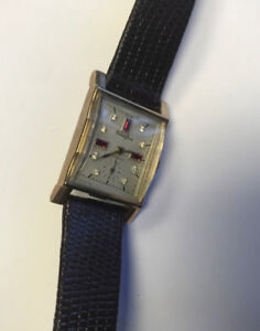 VERY NICE VINTAGE ART DECO CRAWFORD MEN'S WATCH