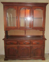 Colonial Hutch and Buffet