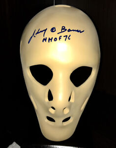 JOHNNY BOWER SIGNED FULL SIZE REPLICA MASK