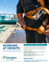 Working at Heights and Working at Heights Refresher courses
