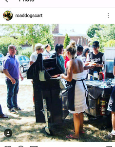 Hot dog cart catering /business for sale