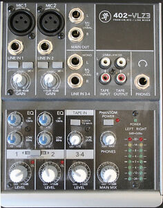 Mackie 402-VLZ3 ultra-compact 4-channel Mixer