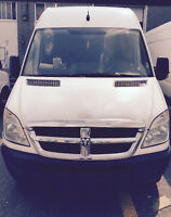 2008 DODGE SPRINTER VAN HIGH ROOF EXTENDED