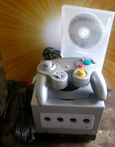 Platinum Gamecube with Gameboy Player