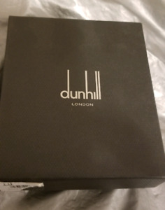 NEW DUNHILL WALLET FOR SALE NEW WITH BOX, DUNHILL LONDON CARD.
