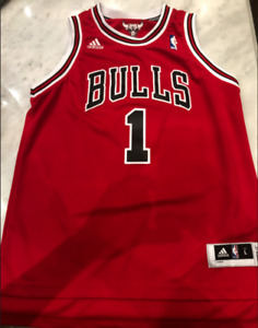 NBA Basketball Authentic Derrick Rose Jersey (Chicago Bulls) 383f3a46c