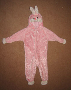Toddler's Rabbit Costume - one size (18 mos to 2 year old?)