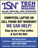Computer Repair and Sales Person Needed