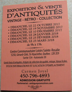 BAZAR  ANTIQUITE VINTAGE RETRO OBJETS DE COLLECTION  DIM. 19 NOV