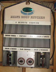 Vintage Heinz Diner Soup Kitchen 1950's