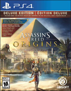 Assassins Creed Origins Deluxe Edition Playstation 4 PS4