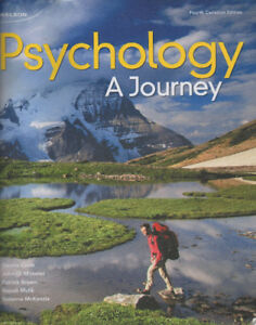 Psychology: A Journey + Printed Access Card for CourseM