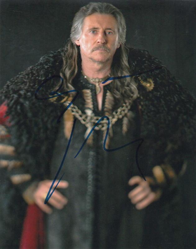 GABRIEL BYRNE.. Vikings' Earl Haraldson - SIGNED