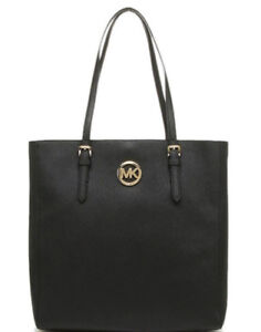 LIKE NEW! Authentic MICHAEL KORS Jet Set Saffiano Travel tote