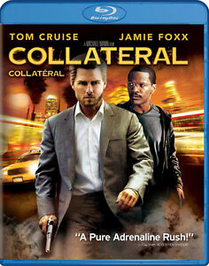 COLLATERAL Blu Ray Tom Cruise Jamie Foxx