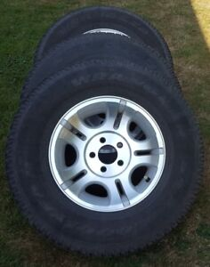 Ford Ranger Factory Wheels and Tires