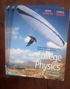College Physics Textbook + Solutions, 9 ed.
