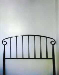 Bronze metal headboard $100 (Originally $175)