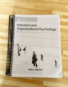 Industrial and Organizational Psychology (6th Edition)