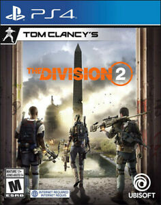 The Division 2 PS4 / Neuf encore emballé - Sealed