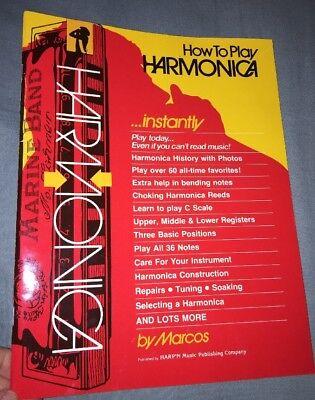 How To Play Harmonica - How To Play Harmonica  by Marcos (PB, 1985)