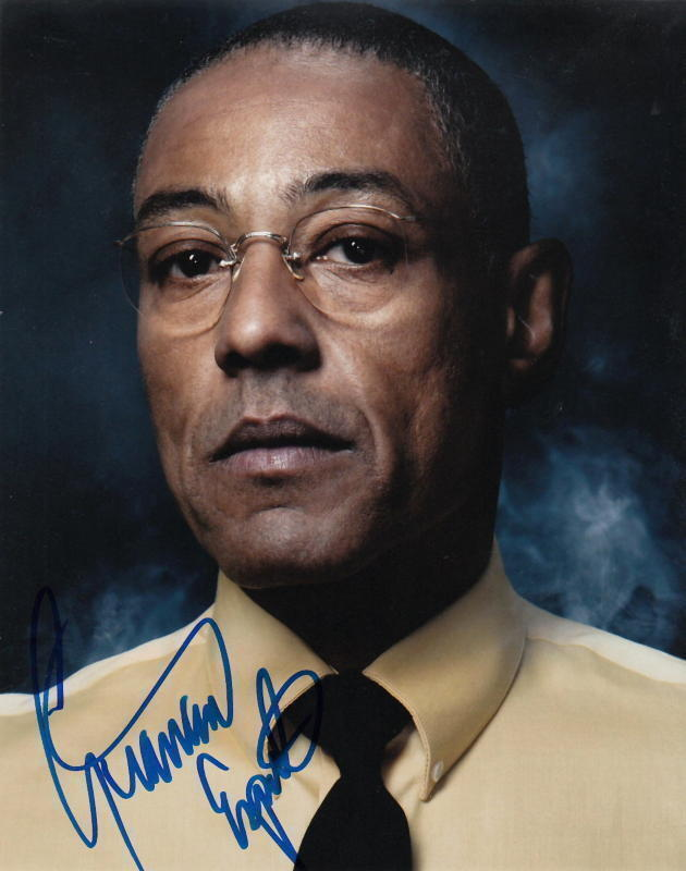 GIANCARLO ESPOSITO.. Breaking Bad Villian - SIGNED