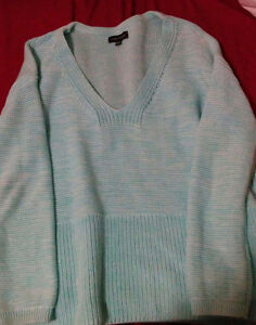 Lord and Taylor sweater, light blue