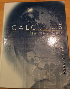 Calculus for Engineers hardcover - Donald Trim Kitchener / Waterloo Kitchener Area image 1