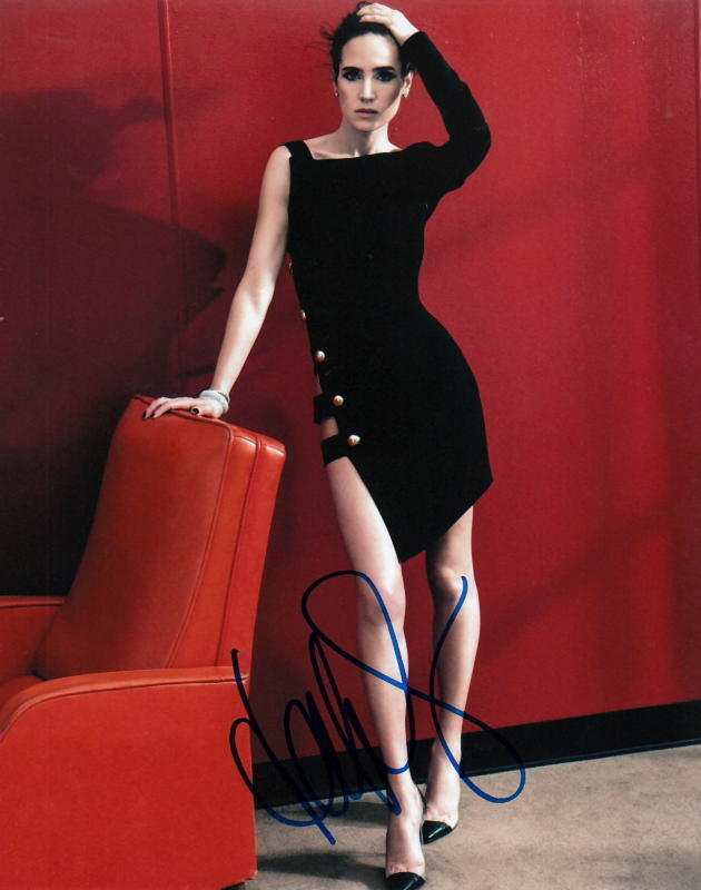 JENNIFER CONNELLY.. Sexy Siren (Leggy) SIGNED