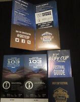 2 Grey Cup Tickets ~LESS than Face Value & 1st ROW in Sky Zone!!