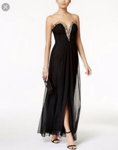 BETSY & ADAM SIZE 8 DRESS PERFECT FOR PROM NIGHT NEW GOOD DEAL