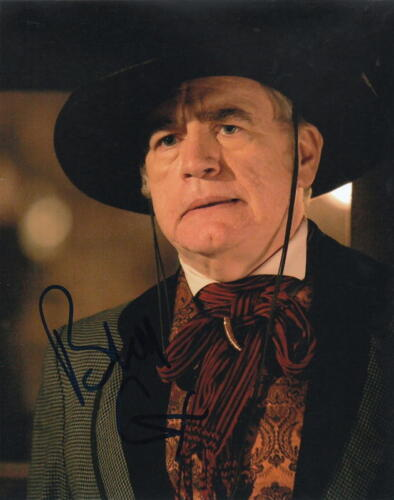 BRIAN COX.. Deadwood's Jack Langrishe (Western) SIGNED
