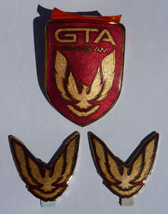 Pontiac Trans Am GTA Emblems (87 - 92)