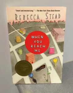 """""""Rebecca Stead"""" Paperback novel """"When You Reach Me"""" (ages 9-12)"""