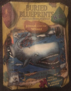 Buried Blueprints puzzle - Jonah and the Whale - NEW
