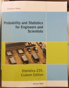 Textbook - Probability and Statistics for Engineers - Stat235
