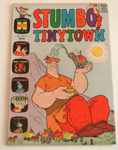 Stumbo, Tinytown #9, 1965, Giant Size Issue, VF- 7.5