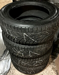 Four 205/55R16 Winter tires $200