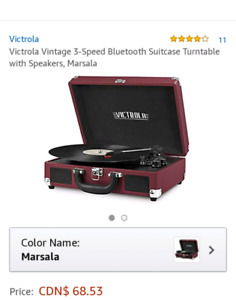 Victrola Vintage Turnable