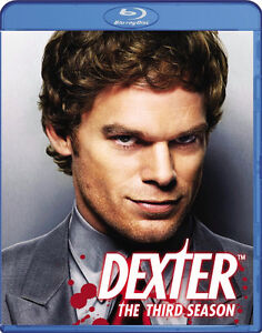 Dexter-Season 3-Blu-Ray-Mint Condition-3 disc set