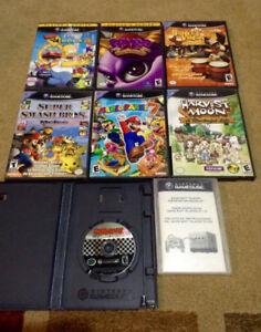 Nintendo GameCube Games !!