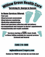 Foot care LPN, nursing services, licenced and insured