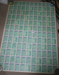 4 sheets 90-91 OPC O-Pee-Chee Hockey Uncut Sheet 132 Cards Kitchener / Waterloo Kitchener Area image 8