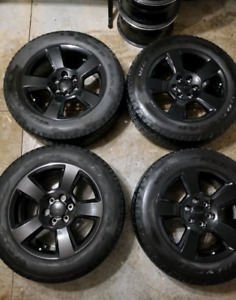 2017-2019 GMC Sierra Rims and Tires (LIKE NEW)