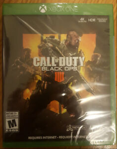 Brand new Call of Duty Black Ops 4 XBOX One