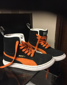 Puma high tops.. men's size 8
