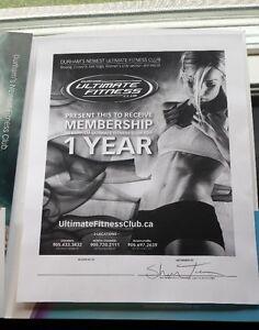 1 Year Gym Membership - Durham Ultimate Fitness