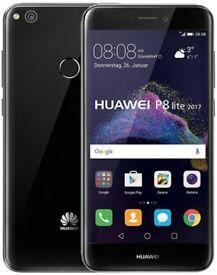Huawei P8 lite 2017 PRA-LX1 16GB 3GB RAM Black As New *Unlocked* see description